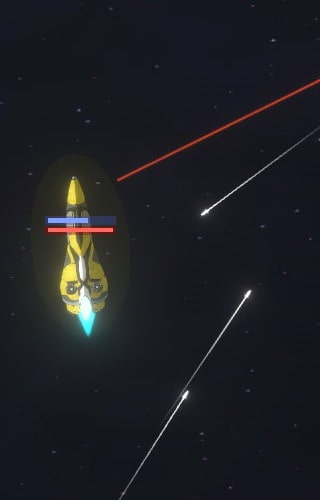 ship with long lasers